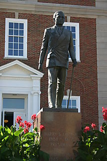 Harry Truman statue, Missouri _0504