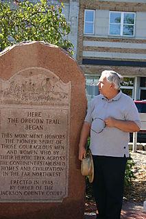 Billl, start of OR Trail St Jos. Missouri 0502