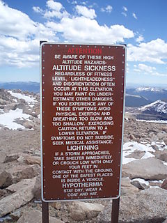 HIGH ALTITUDE SGN MT EVANS 23