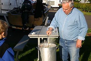 Crab cooker 1136