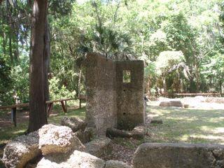 Wormsloe ruins turret 59