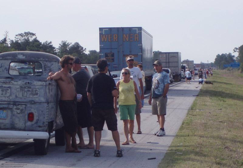 Freeway jam ocala may 09 06