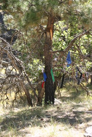 Devil's Tower prayer cloths B 0405