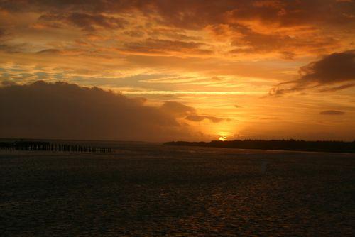 WINCHESTER BAY SUNSET 1162