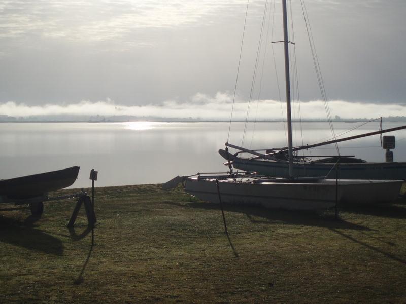 Autumn sky boats 48