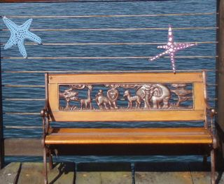 Bandon boardwalk bench46