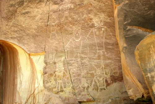 Pictograph family group 052