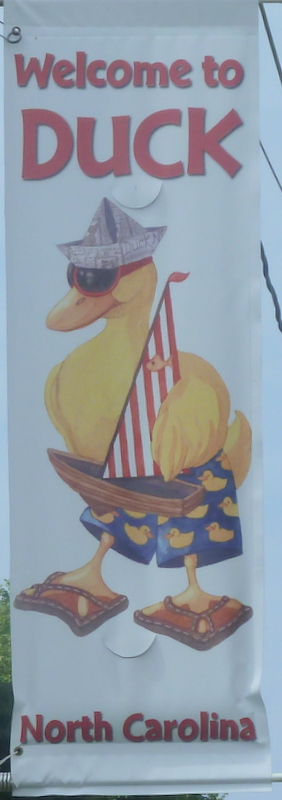 Duck welcome sign020-1
