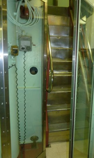 Nautilus was first sub to have stairs--ladders before