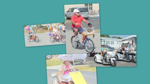 Upheaval bikes and frasier