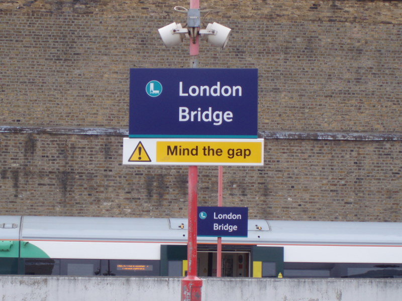 Mind the gap , lb