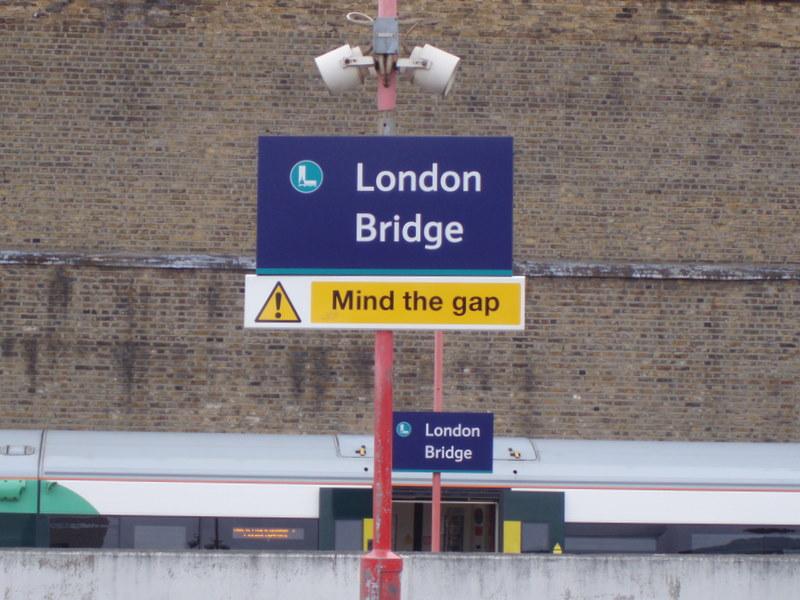 Mind the gap , lb