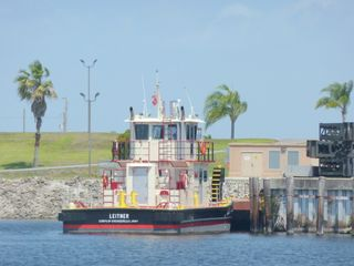 Corps of engineers work boat