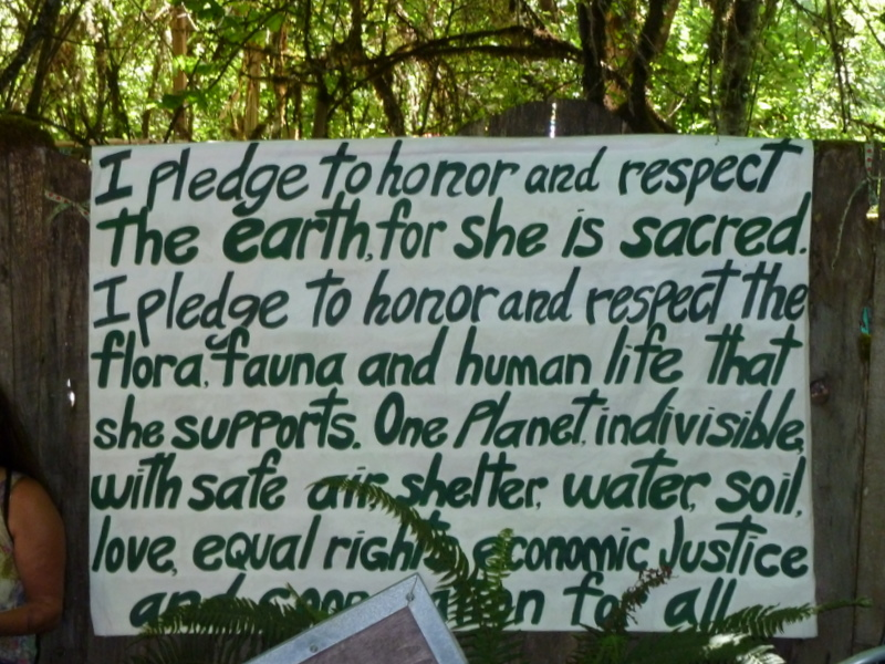 Sign enviro pledge