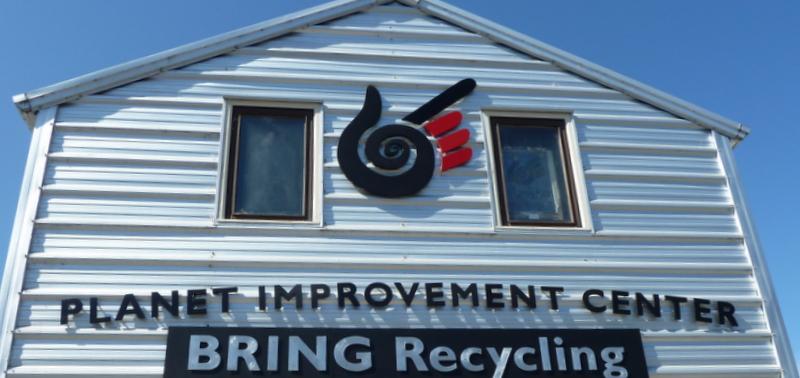 Warehouse sign front door-1