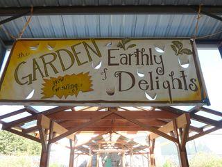 Bring garden sign