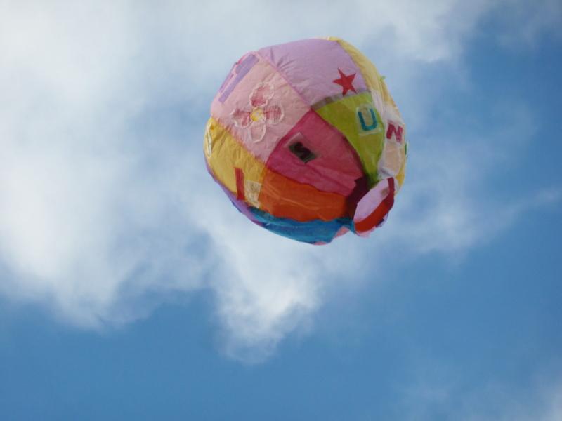 Pink kids balloon2