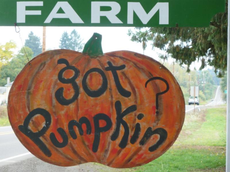 Got pumpkin