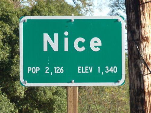 NICE SIGN