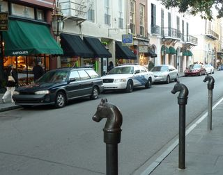 Street horse posts
