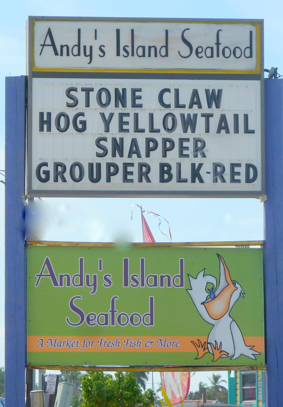 Andy's fish mkt sign 1