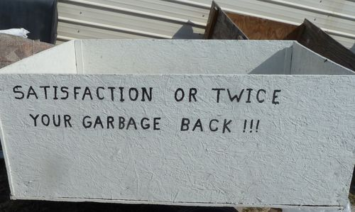 Trash trailer