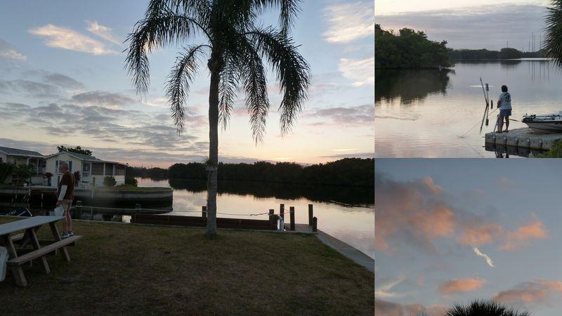 Morning sky february upriver
