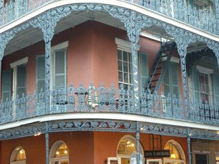 Balcony ornate - beads