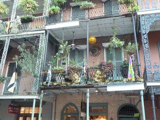 Balcony flowery