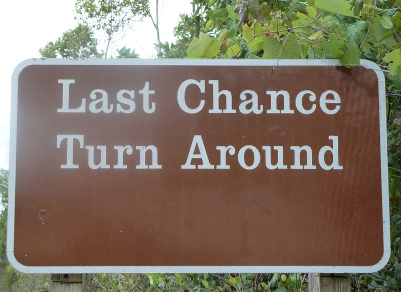 last chance turn around