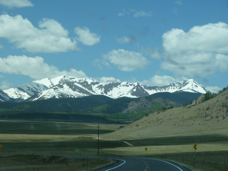 Colorado sky drive by