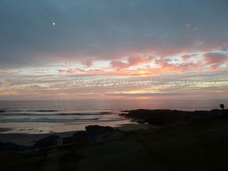 sunset from Adobe inn