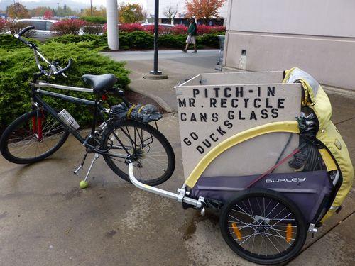 Oregon recycle bike