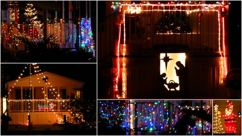 Christmas decorations Upriver