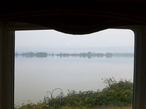 window view Fern Ridge Lake