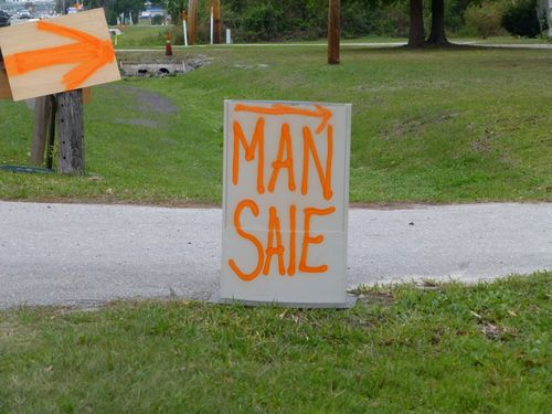 Man sale sign-001