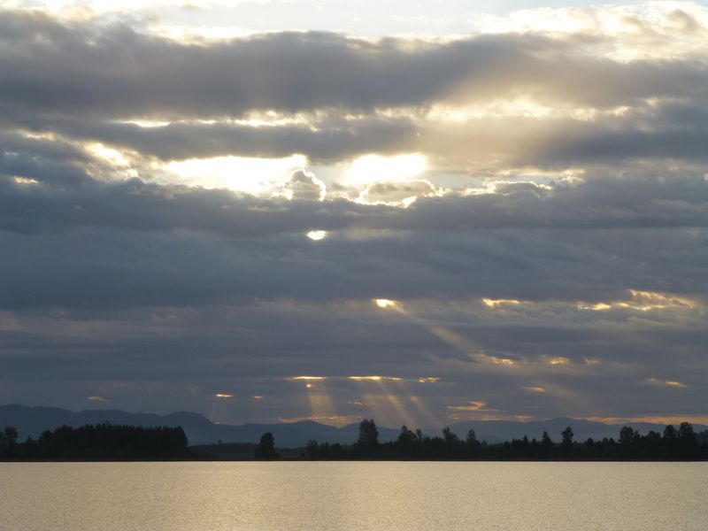 lake sunrise Sept 3