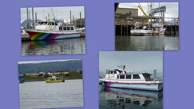 Boats Homer Spit Docks-001