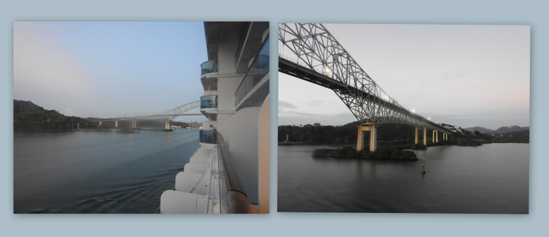 Cruise panama canal first sort