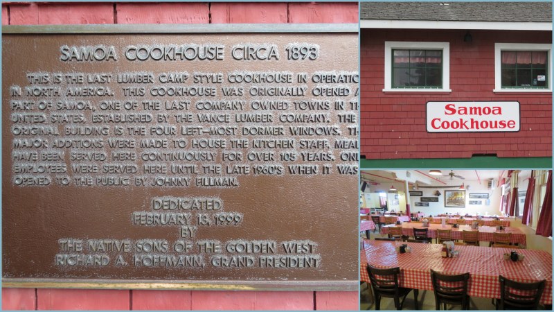 Samoa Cookhouse and Humboldt Maritime Museum
